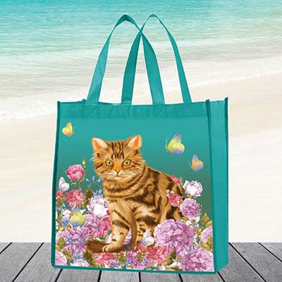 Garden Cat Tote