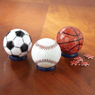 Sports Ball Puzzles
