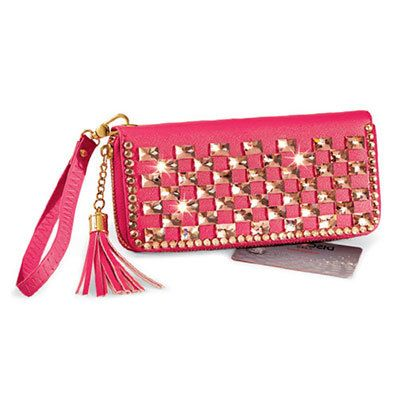 Rhinestone Bling Clutch