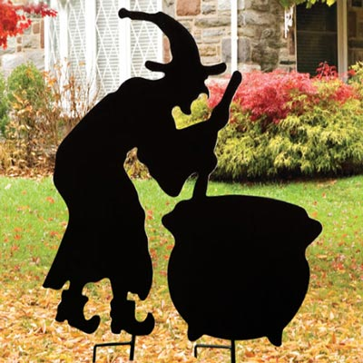 Witchy Yard Stake