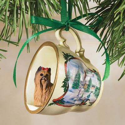 Best Friend Teacup Ornament