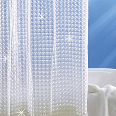 Holographic 3-D Shower Curtain
