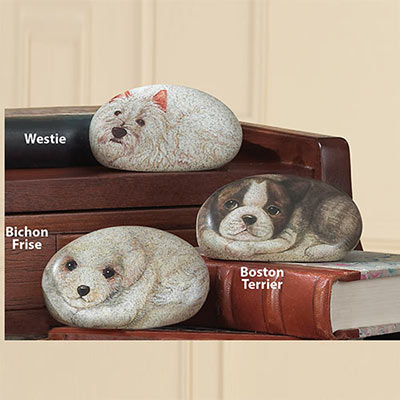 Puppy Paperweights