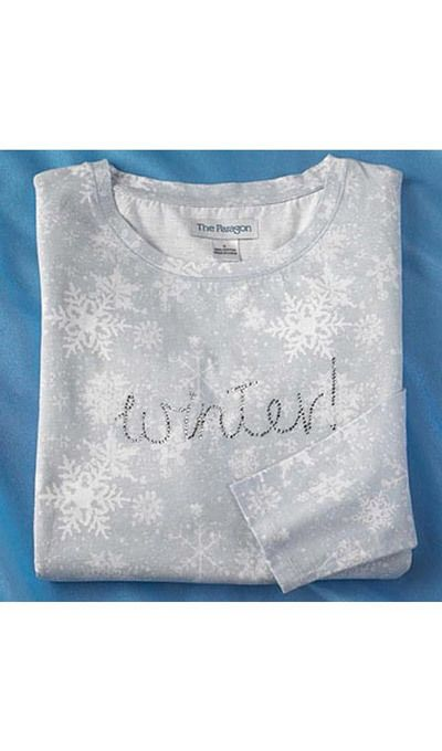 Bejeweled Winter Wonderland Tee