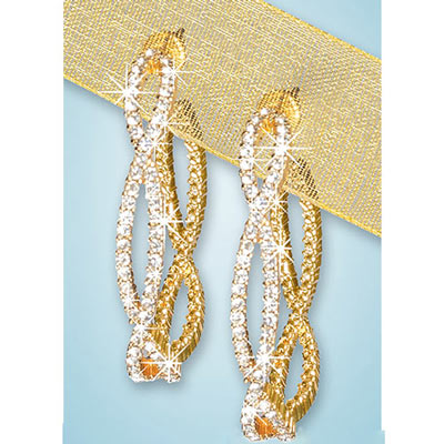 Dazzling Eternity Earrings