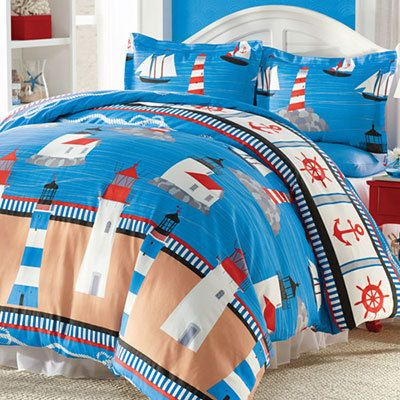 Lighthouse Duvet Set