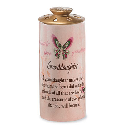 Granddaughter Heart Warmer Candle