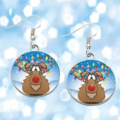 Reindeer Games Earrings