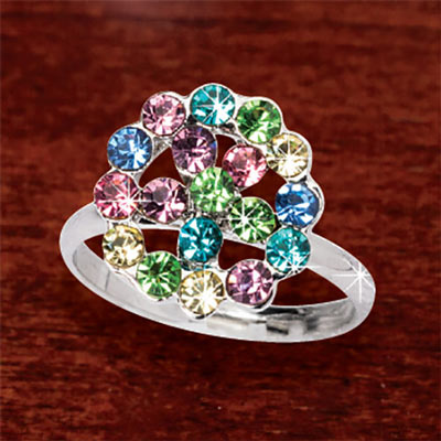 Brilliant Rainbow Ring
