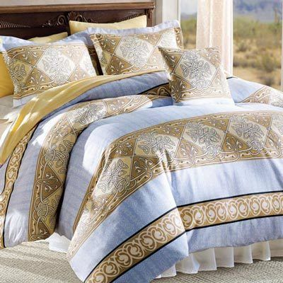 Eternity Knot Duvet Set & Accessories