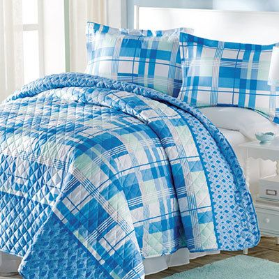 Perfect Plaid Quilt Set