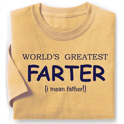 World's Greatest Farter Tee