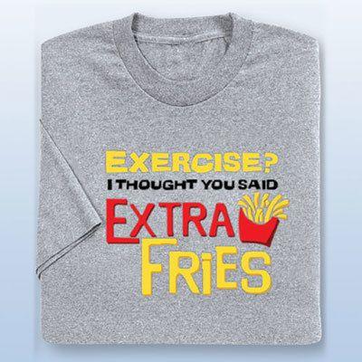 Extra Fries Tee