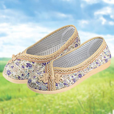 Floral Garden Slip-on Shoes