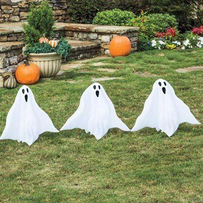 Yard Ghosts - Set of 3