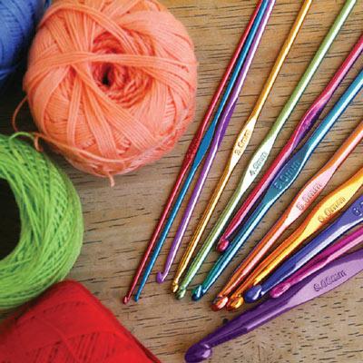 Colorful Crochet Hook Set