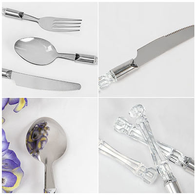 Facted Flatware-16pc