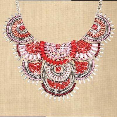 Lavishly Bejeweled Necklace
