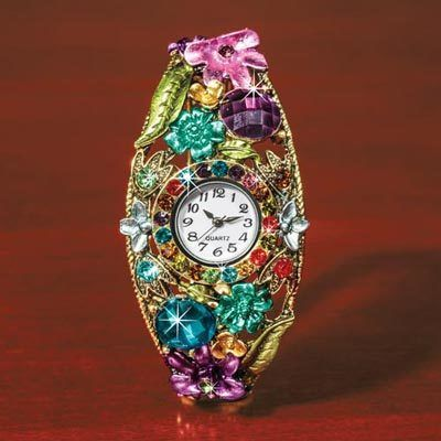 Brilliant Floral Watch