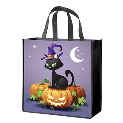 Halloween Cat Tote