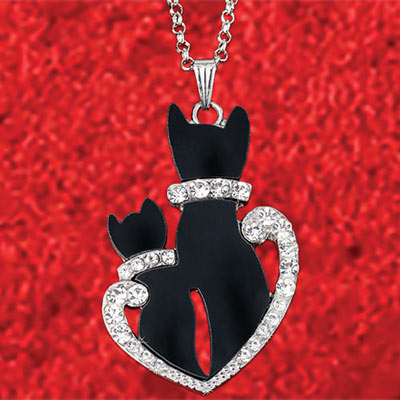 Kitty Love Necklace