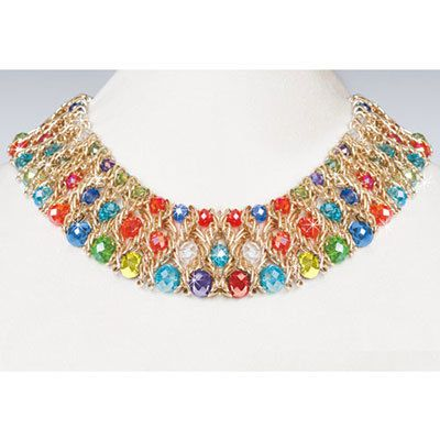 Shimmering Kaleidoscope Necklace
