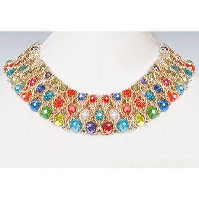 Shimmering Kaleidoscope Necklace