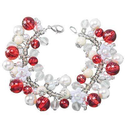Christmas Bell Charm Bracelet