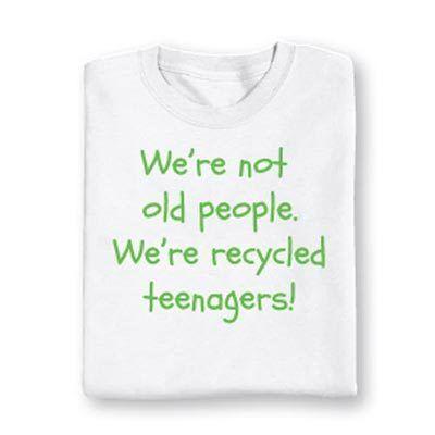 Recycled Teenagers Tee