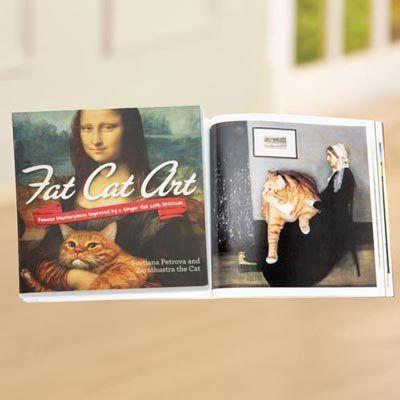 Fat Cat Art Book