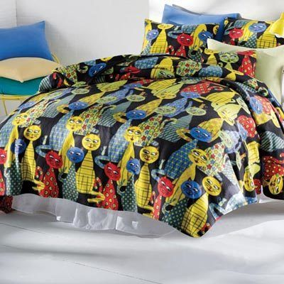 Krazy Katz Fleece Blankets & Accessories