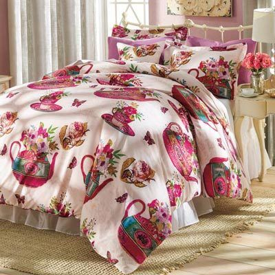 Tea for Two Duvet Set