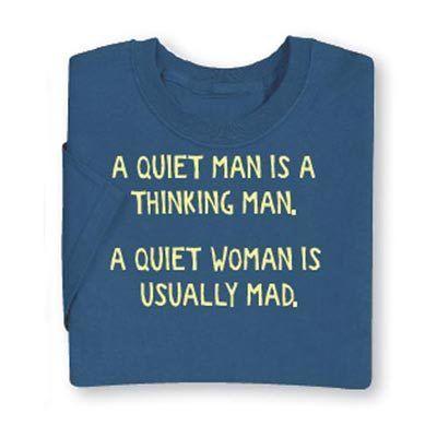 Quiet Man Tee