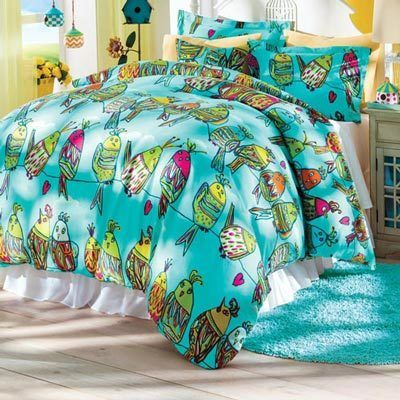 Party Line Duvet Set & Accessory