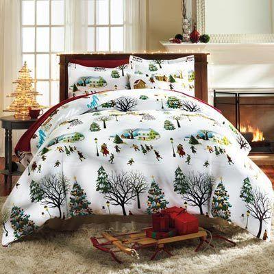 Christmas Village Bedding