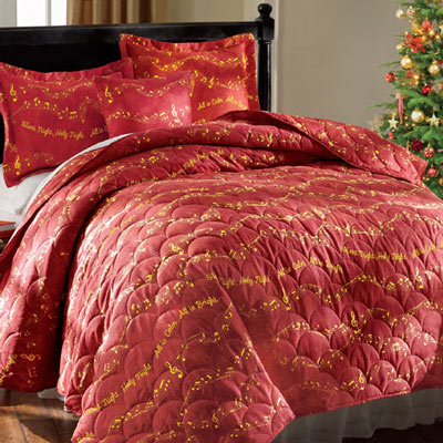 Silent Night Quilt Set & Accessories