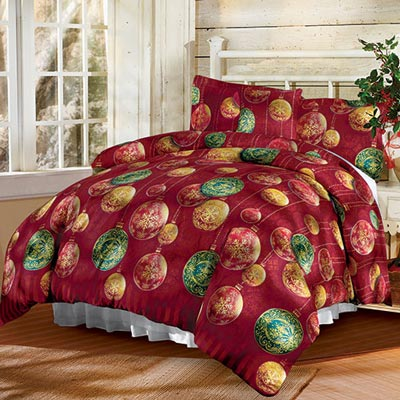 Holiday Cheer Duvet Set & Accessories