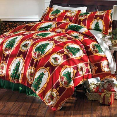 Christmas Traditions Duvet Set