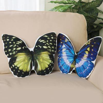 Beautiful Butterfly Pillows