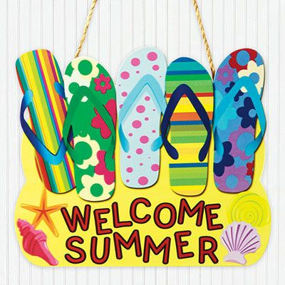 Flip Flop Summer Sign