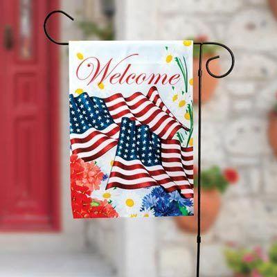 Americana Garden Flag