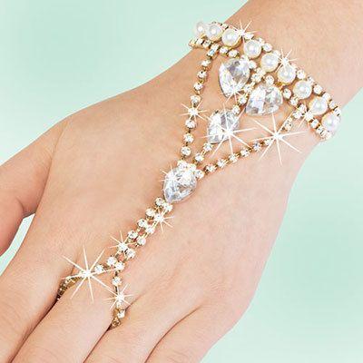 Opulent Bracelet & Ring Combination
