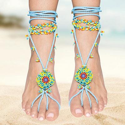 Southwestern Barefoot Sandal
