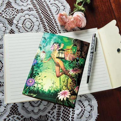 Enchanted Garden Notebook