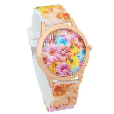 Watercolor Blooms watch
