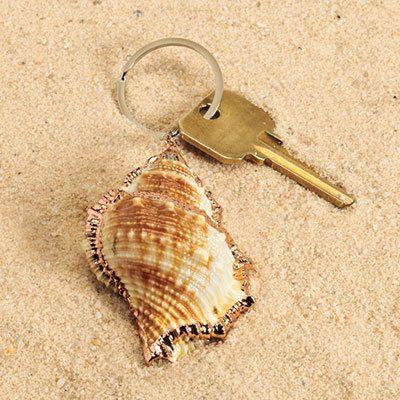 Shell Keychain