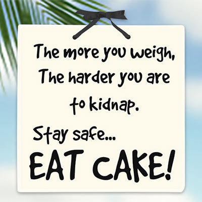 Eat Cake! Plaque