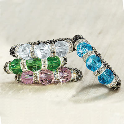 Sparkling Crystal Ring