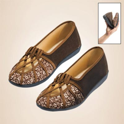 Floral Lattice Loafers