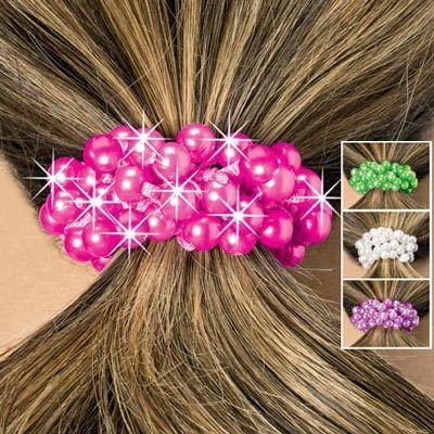 Luminous Pearl Ponytail Bands